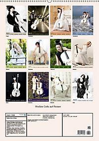 Weißes Cello auf Reisen (Wandkalender 2019 DIN A2 hoch) - Produktdetailbild 13