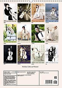 Weisses Cello auf Reisen (Wandkalender 2019 DIN A3 hoch) - Produktdetailbild 13