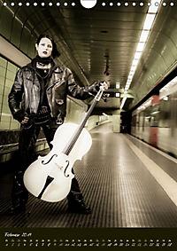 Weißes Cello auf Reisen (Wandkalender 2019 DIN A4 hoch) - Produktdetailbild 2
