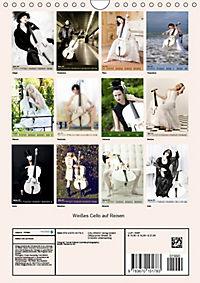 Weißes Cello auf Reisen (Wandkalender 2019 DIN A4 hoch) - Produktdetailbild 13