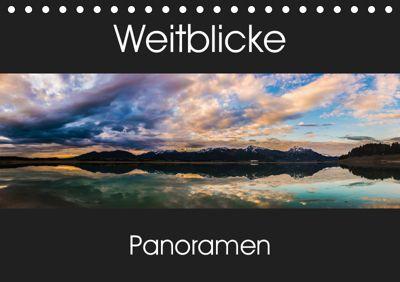 Weitblicke - Panoramen (Tischkalender 2019 DIN A5 quer), Martin Wasilewski
