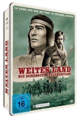 Weites Land - Die schönsten Indianerfilme, 8 DVD