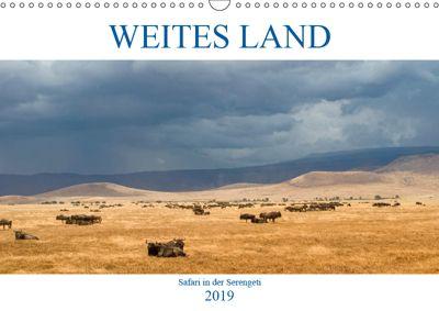 Weites Land - Safari in der Serengeti (Wandkalender 2019 DIN A3 quer), Oliver Schulz