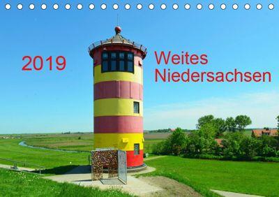 Weites Niedersachsen (Tischkalender 2019 DIN A5 quer), Heinz Wösten
