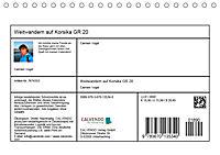 Weitwandern auf Korsika GR 20 (Tischkalender 2019 DIN A5 quer) - Produktdetailbild 13