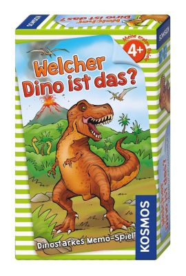 Welcher Dino ist das? (Kinderspiel)