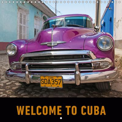 Welcome to Cuba (Wall Calendar 2019 300 × 300 mm Square), Martin Ristl