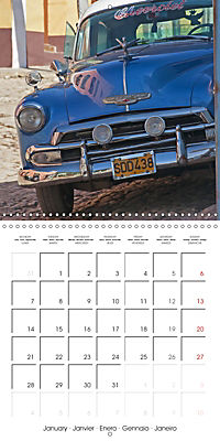Welcome to Cuba (Wall Calendar 2019 300 × 300 mm Square) - Produktdetailbild 1