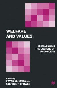 Welfare and Values