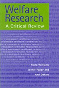Welfare Research