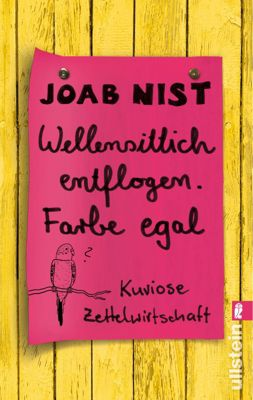 Wellensittich entflogen - Farbe egal, Joab Nist