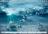 Welt der Fantasie - Surreal, verträumt und grenzenlos (Tischkalender 2019 DIN A5 quer) - Produktdetailbild 2