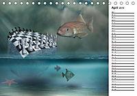 Welt der Fantasie - Surreal, verträumt und grenzenlos (Tischkalender 2019 DIN A5 quer) - Produktdetailbild 4