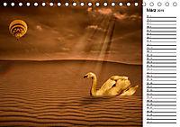 Welt der Fantasie - Surreal, verträumt und grenzenlos (Tischkalender 2019 DIN A5 quer) - Produktdetailbild 3