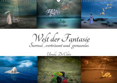 Welt der Fantasie - Surreal, verträumt und grenzenlos (Wandkalender 2019 DIN A2 quer), Ursula Di Chito