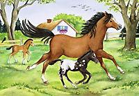 Welt der Pferde. Puzzle 2 x 24 Teile - Produktdetailbild 2