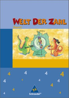 Welt der Zahl, Ausgabe 2007 Bayern: 4. Jahrgangsstufe, Schülerband