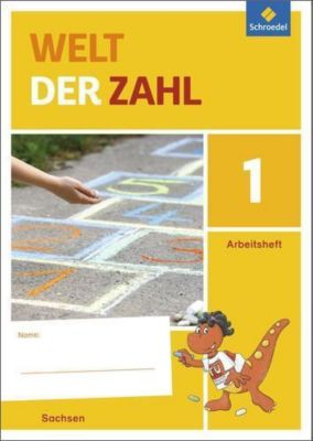Welt der Zahl, Ausgabe 2016 Sachsen: Bd.1 1. Schuljahr, Arbeitsheft