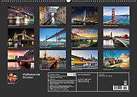 Weltbekannte Brücken (Wandkalender 2019 DIN A2 quer) - Produktdetailbild 13