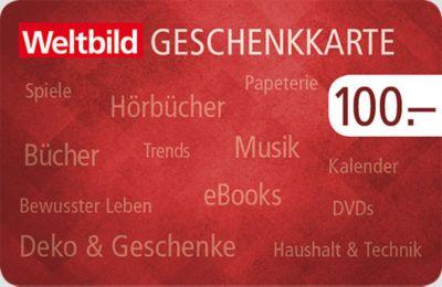 Weltbild Geschenkkarte Neutral (Wert 100 Franken)