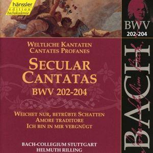 Weltliche Kantaten Bwv 202-204, Bach-Collegium, Helmuth Rilling