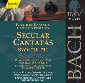 Weltliche Kantaten Bwv 210+211, Johann Sebastian Bach