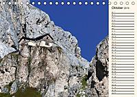 Weltnaturerbe DOLOMITEN (Tischkalender 2019 DIN A5 quer) - Produktdetailbild 10