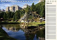 Weltnaturerbe DOLOMITEN (Tischkalender 2019 DIN A5 quer) - Produktdetailbild 3