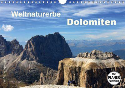 Weltnaturerbe DOLOMITEN (Wandkalender 2019 DIN A4 quer), Evy Schäfer-Löbl