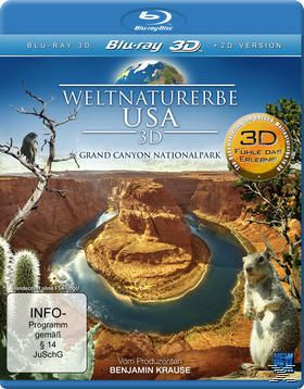 Weltnaturerbe USA 3D - Grand Canyon Nationalpark, N, A