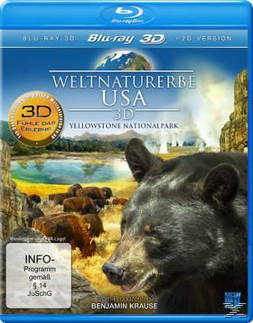 Weltnaturerbe USA 3D - Yellowstone Nationalpark, N, A