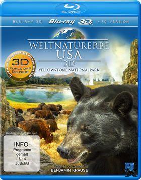Weltnaturerbe USA 3D - Yellowstone Nationalpark, N, A