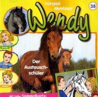 Wendy, Audio-CDs: Nr.38 Der Austauschschüler, 1 Audio-CD, Wendy