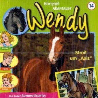 Wendy, Audio-CDs: Tl.14 Streit um Axis, 1 Audio-CD, Wendy