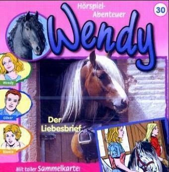 Wendy, Audio-CDs: Tl.30 Der Liebesbrief, 1 Audio-CD, Wendy