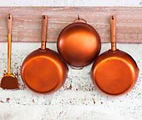 Wenko Glasrückwand Kupferpfannen, 60 x 50 cm - Produktdetailbild 3
