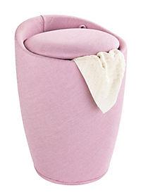 Wenko Hocker Candy Rose Leinenoptik, Badhocker, mit abnehmbarem Wäschesack - Produktdetailbild 1