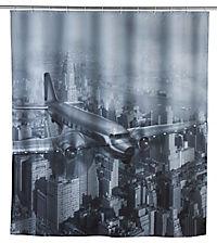 Wenko LED Duschvorhang Old Plane, waschbar - Produktdetailbild 1