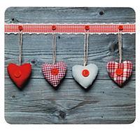 Wenko Multi-Platte Herzen, für Glaskeramik Kochfelder, Schneidbrett - Produktdetailbild 1