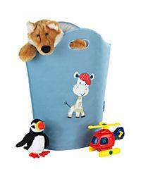 Wenko Wäschesammler Kids Gerry, Wäschekorb, 24 l, blau - Produktdetailbild 2