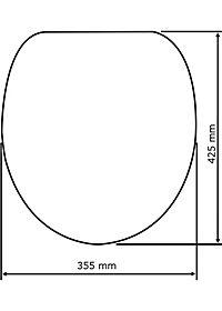 Wenko WC-Sitz Eiche Grau mit Absenkautomatik - Produktdetailbild 3