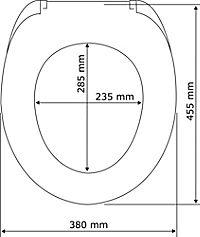 Wenko WC-Sitz Pop-Art, Duroplast, mit Absenkautomatik - Produktdetailbild 4