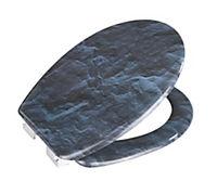 Wenko WC-Sitz Slate Rock, mit Absenkautomatik - Produktdetailbild 2