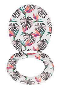 Wenko WC-Sitz Tropical, Unikat aus MDF - Produktdetailbild 1