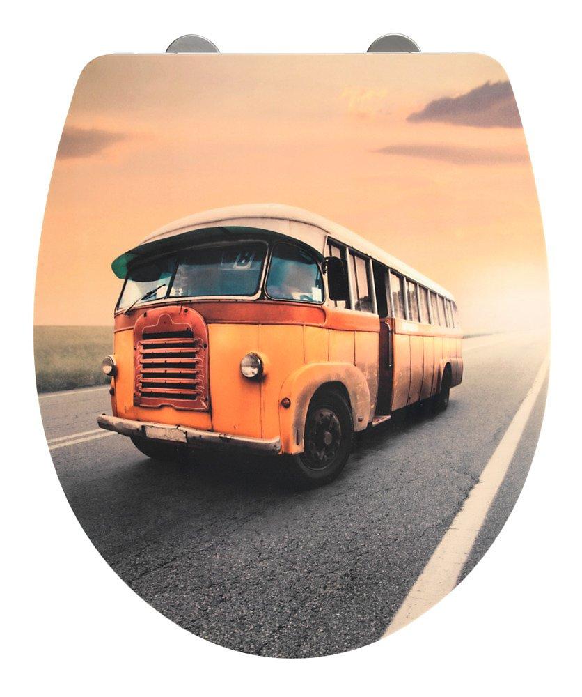 wenko wc sitz vintage bus duroplast absenkautomatik