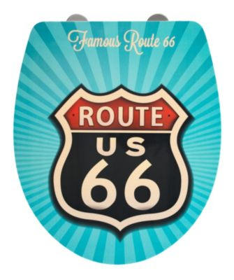 Wenko WC-Sitz Vintage Route 66