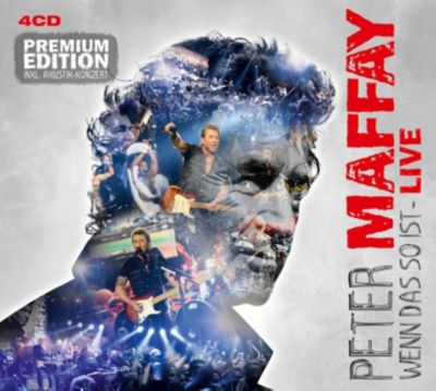 Wenn das so ist - Live (Premium Edition, 4CD), Peter Maffay