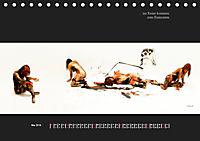 """""""wenn es nicht mehr wichtig ist"""", Bodypainting-Fotografien (Tischkalender 2019 DIN A5 quer) - Produktdetailbild 5"""