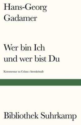 Wer bin Ich und wer bist Du? - Hans-Georg Gadamer pdf epub