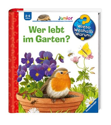 Wer lebt im Garten?, Patricia Mennen